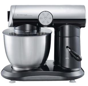 Kjøkkenmaskin 1000W Svart/ Sølv