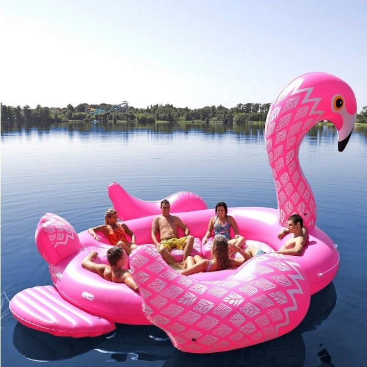 Summer Collection Gigantisk flåte, Flamingo (rosa) (496-FLAMINGO-PINK)