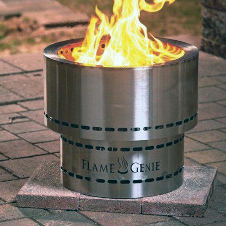 Flammetønna™ Bålpanne Rustfritt Stål 35cm (441-FG-16-SS)