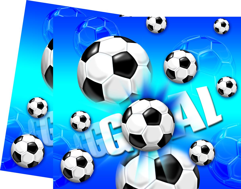 Fotball Plastduk str. 120x180 cm Praktisk engangsduk i fotball-design. (1 stk) (126-9631)