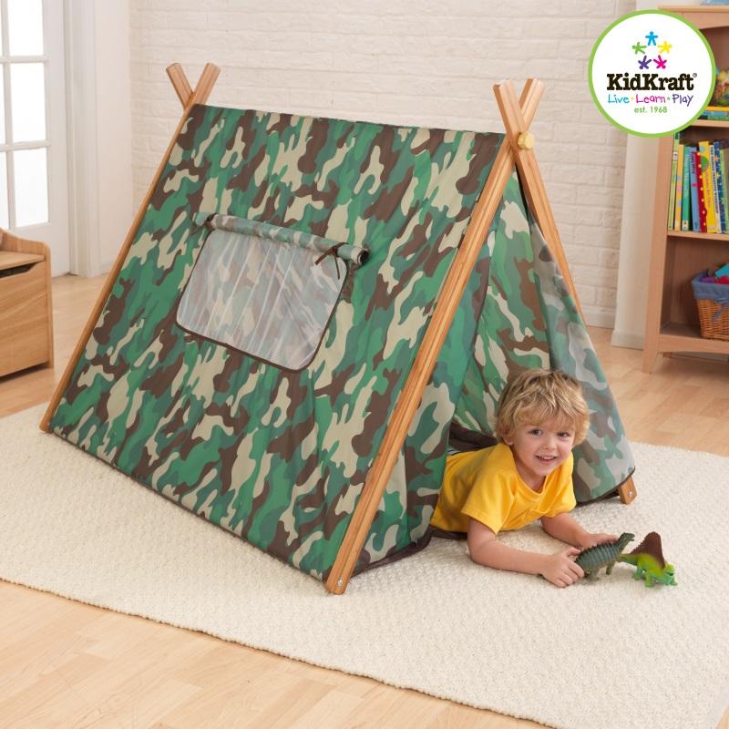 KidKraft Telt for barn, Camo (101-00212)