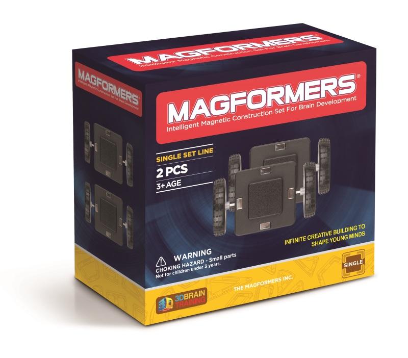 Magformers Hjulsett - 4 hjul (125-3018)