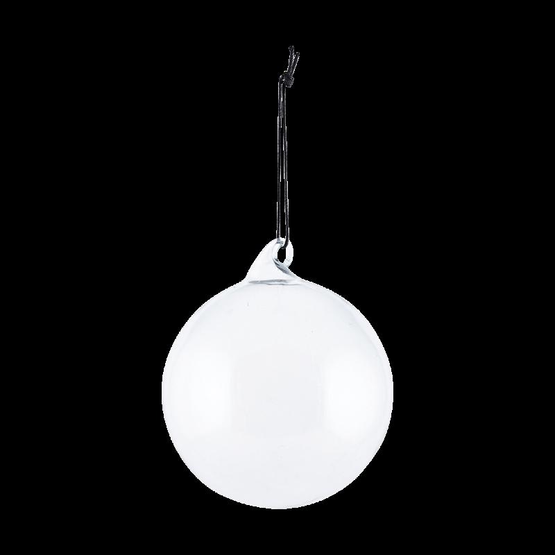 House Doctor Julekule glass grå, ø8cm (151-Be0804)