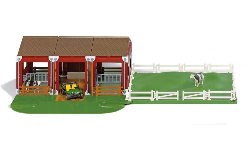 Siku Farmlife Stall m/JD-Gator (233-88-5603-00)