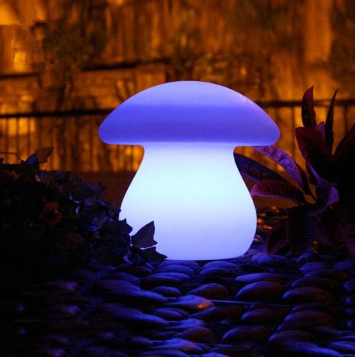 Trend light LED-Lampe Sopp H21cm, oppladbar (422-W-ML02)