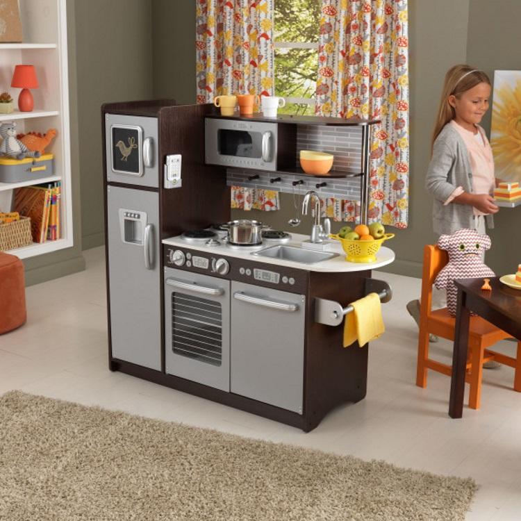 KidKraft Uptown Espresso - Lekekjøkken (101-53260)