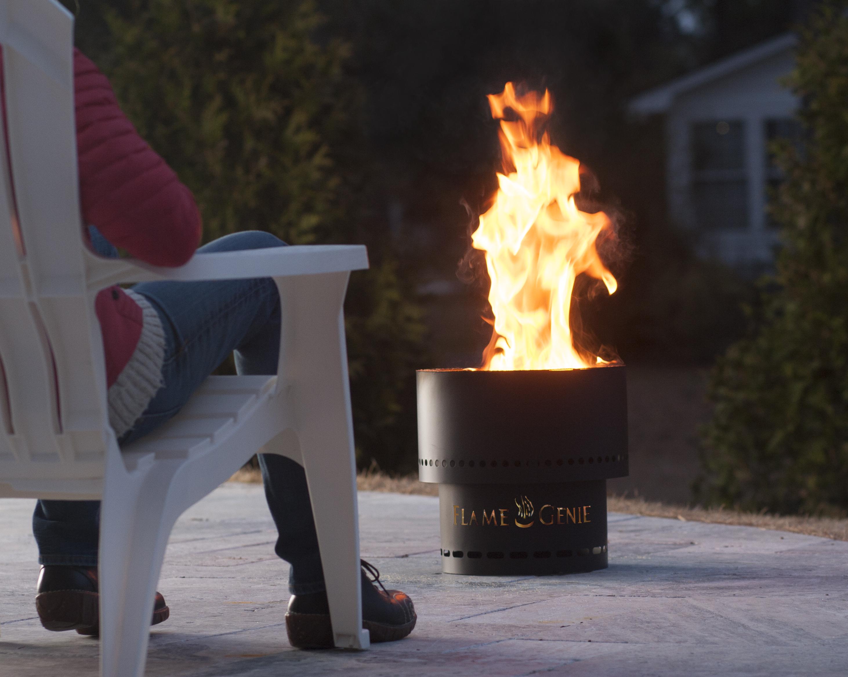Flammetønna™ Bålpanne Sort - 48cm (441-FG-19)