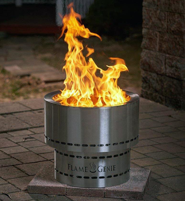 Flammetønna™ Bålpanne Rustfritt Stål 48cm (441-FG-19-SS)